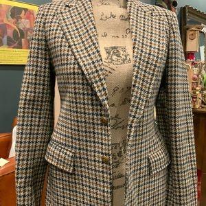 Vintage YSL Houndstooth jacket